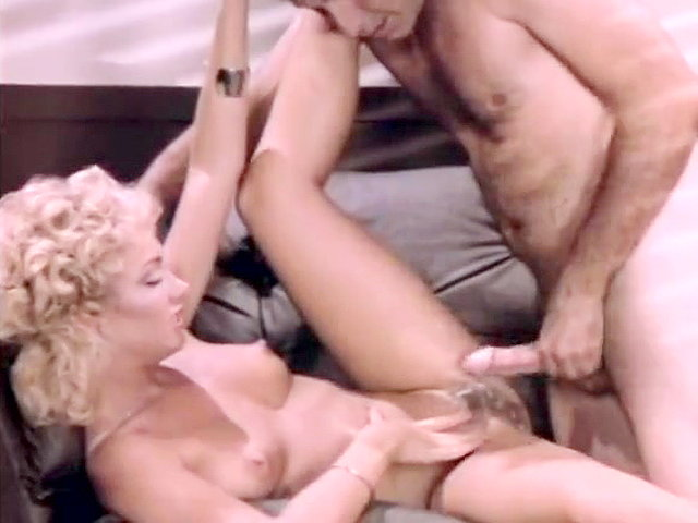 1970s vintage blonde interracial threesome 10