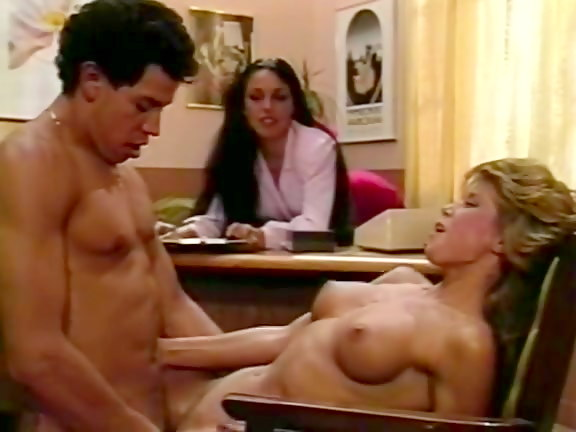 ретро порно офис